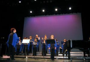 La chorale en action