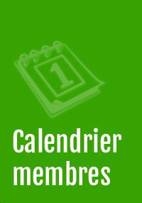 calendrier des membres
